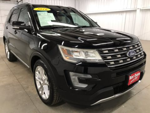 Pre-Owned 2016 Ford Explorer XLT FWD 4D Sport Utility