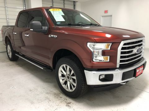 Pre-Owned 2016 Ford F-150 XLT 4WD 4D SuperCrew
