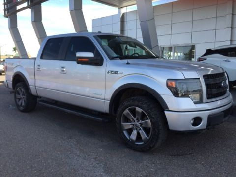 Pre-Owned 2014 Ford F-150 FX4 4WD 4D SuperCrew