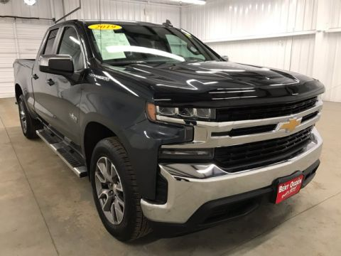Pre-Owned 2019 Chevrolet Silverado 1500 LT RWD 4D Double Cab