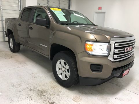 Pre-Owned 2017 GMC Canyon Base RWD 4D Crew Cab