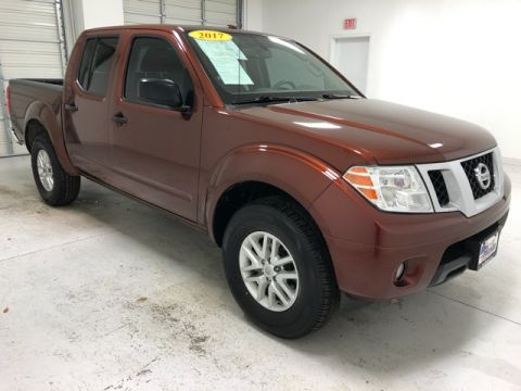Pre-Owned 2017 Nissan Frontier SV 4WD 4D Crew Cab