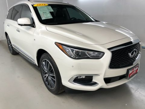 Pre-Owned 2018 INFINITI QX60 Base FWD 4D Sport Utility