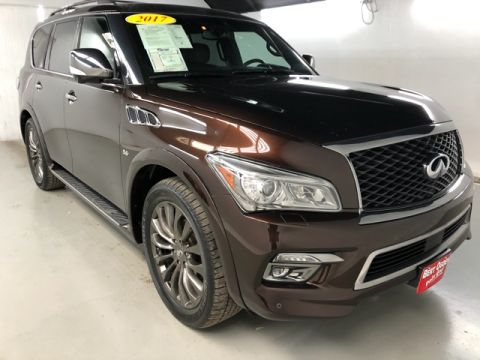 Pre-Owned 2017 INFINITI QX80 Limited AWD 4D Sport Utility