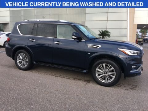 Pre-Owned 2018 INFINITI QX80 Base AWD 4D Sport Utility