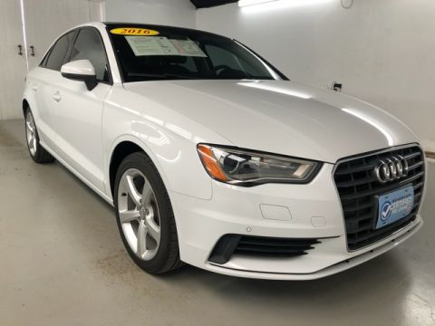Pre-Owned 2016 Audi A3 1.8T Premium FrontTrak 4D Sedan